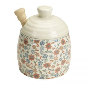 Ditsy Blossom Honey Pot with Drizzler Ref 52956 10.99