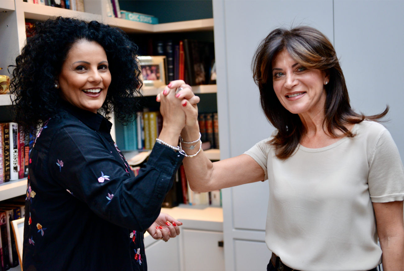 Chairs of WIZO UK and UJIA Women join hands to promote their Joining Hands campaign