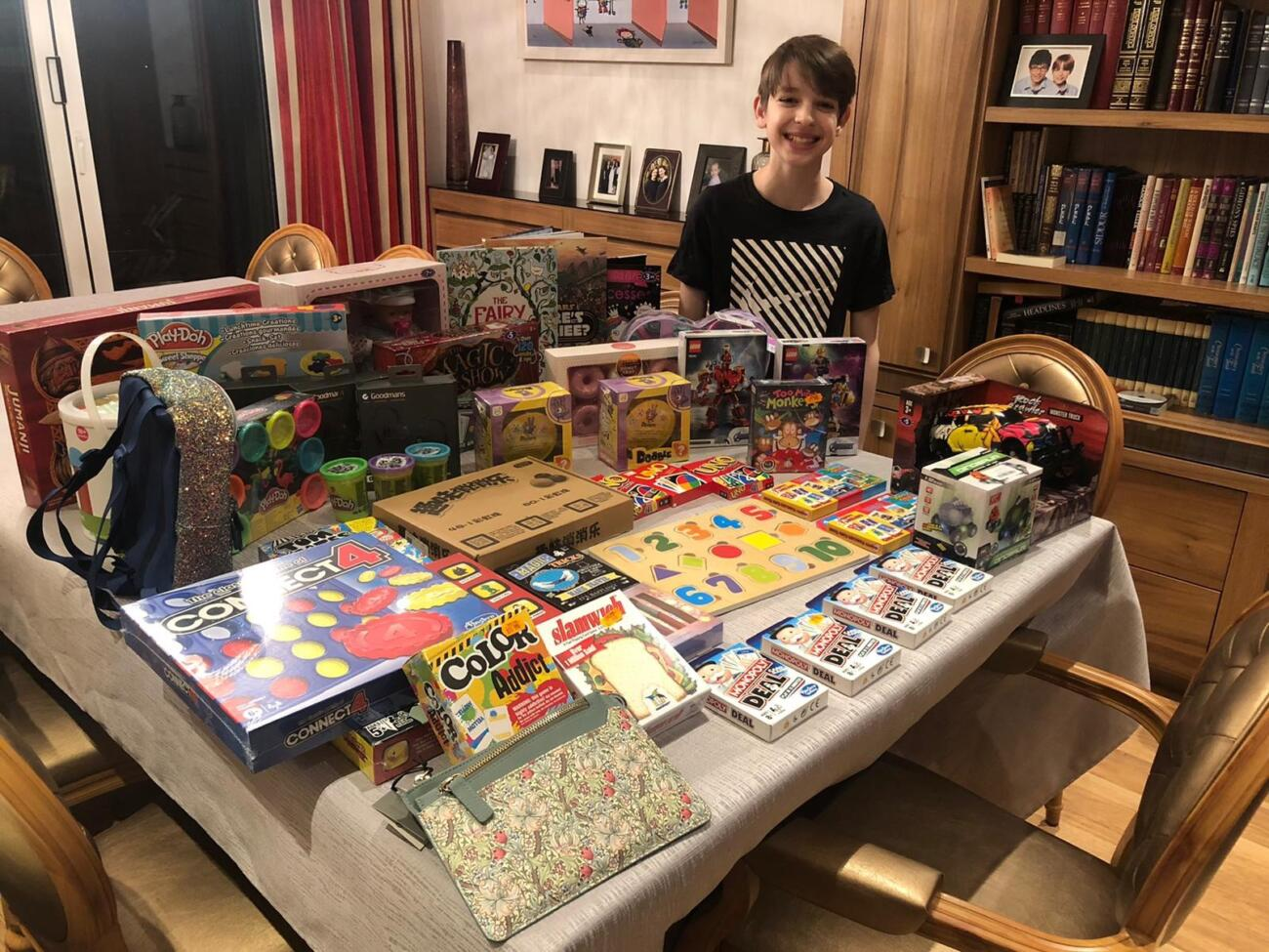 Bar Mitzvah Boy Leads £15K Toy Collection